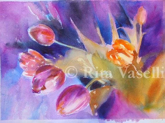 Rita Vaselli watercolors: IKEA STILL LIFE