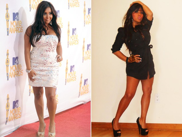 Jersey Shore star Snooki Weight Loss Pics