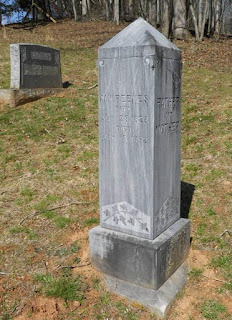 Grave of Malachi Reeves, Jr., grandson of James Reeves
