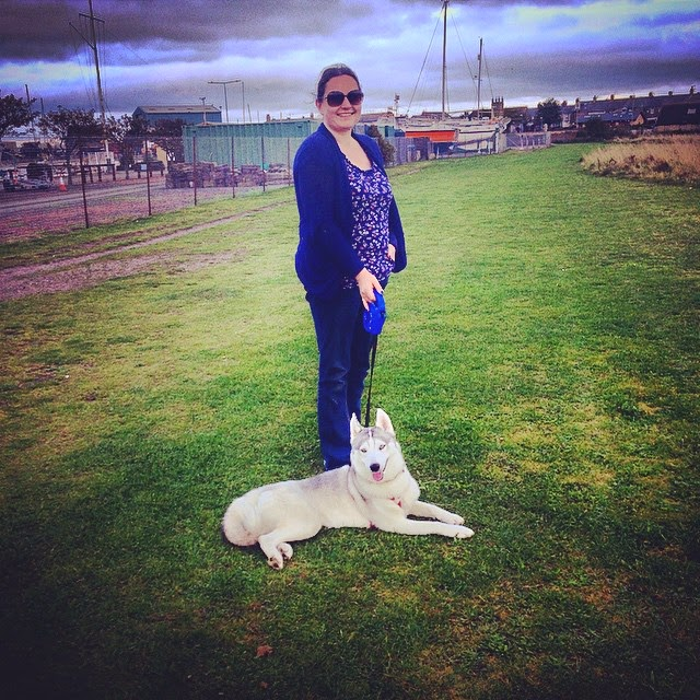 Mandy Charlton, Petunia the Husky, Amble