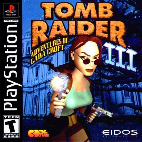 Tomb Raider 3 ISO PS1