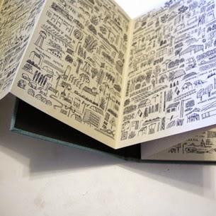 Fadingpaper Livre Accordeon Vue Du Train Jochen Gerz