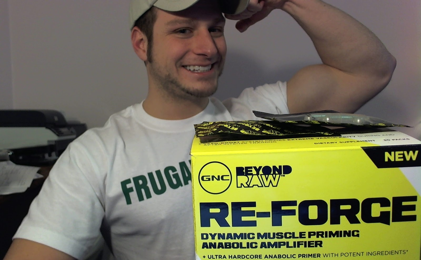 Supplement Review: GNC's Re-Forge (Beyond Raw Series)