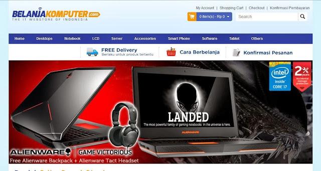 toko online terpercaya belanjakomputer.com