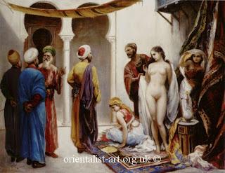 Moça cristã escrava é vendida nua na feira árabe