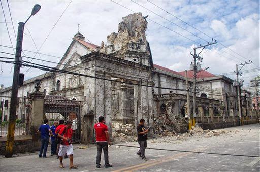BOHOL EARTHQUAKE 7