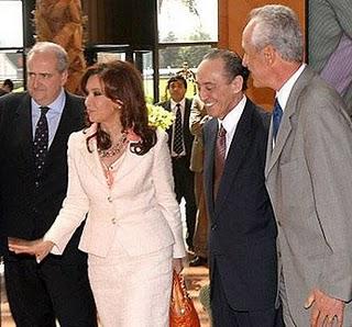 Cristina Kirchner y Héctor Magneto