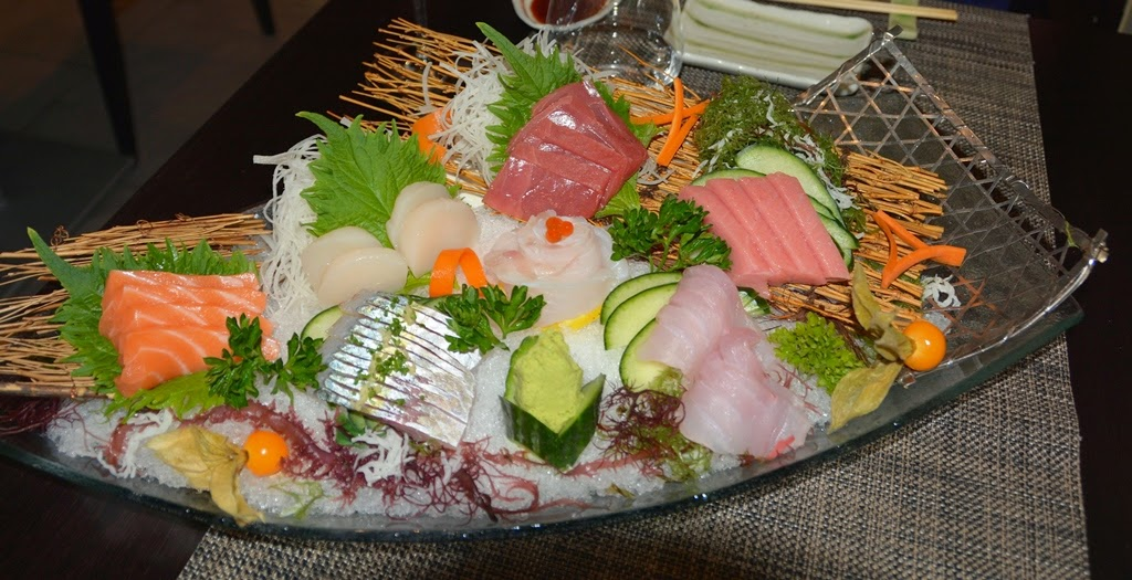 Restaurant Miyama Madrid Sashimi