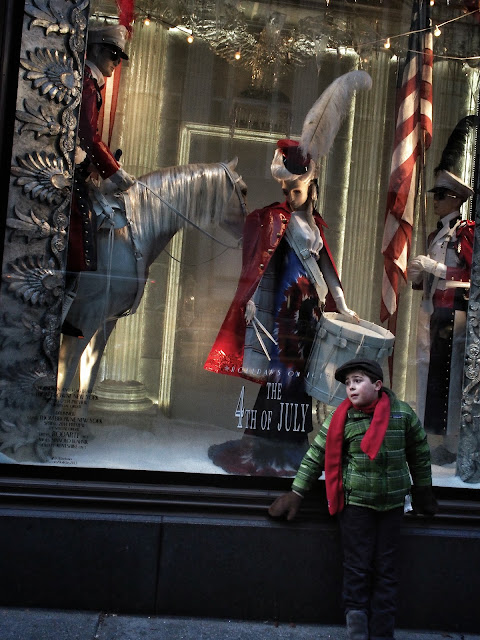 Striking a Pose, #BGWindows #5thAvenueWindows NYC 2013