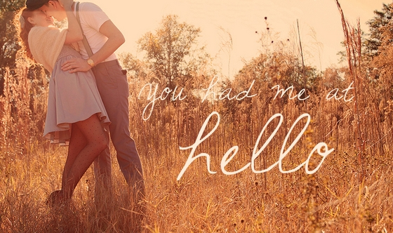 You Had Me At Hello Quote Extraordinary Ilove Images You Had Me At Hello