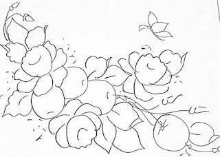 rosas e maças