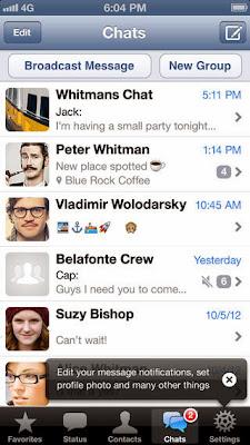 تحميل تطبيق وأتس آب ماسنجر للايفون مجاناً WhatsApp Messenger IPA-iOS 2.11.4