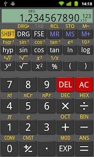 Aplicacion Calculadora Cientifica Para Android Tablet Pc