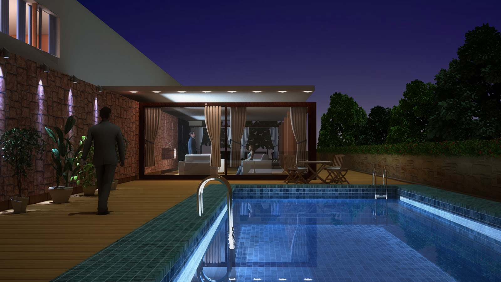 3ds Max Exterior Lighting 3ds Max Vray Exterior Night
