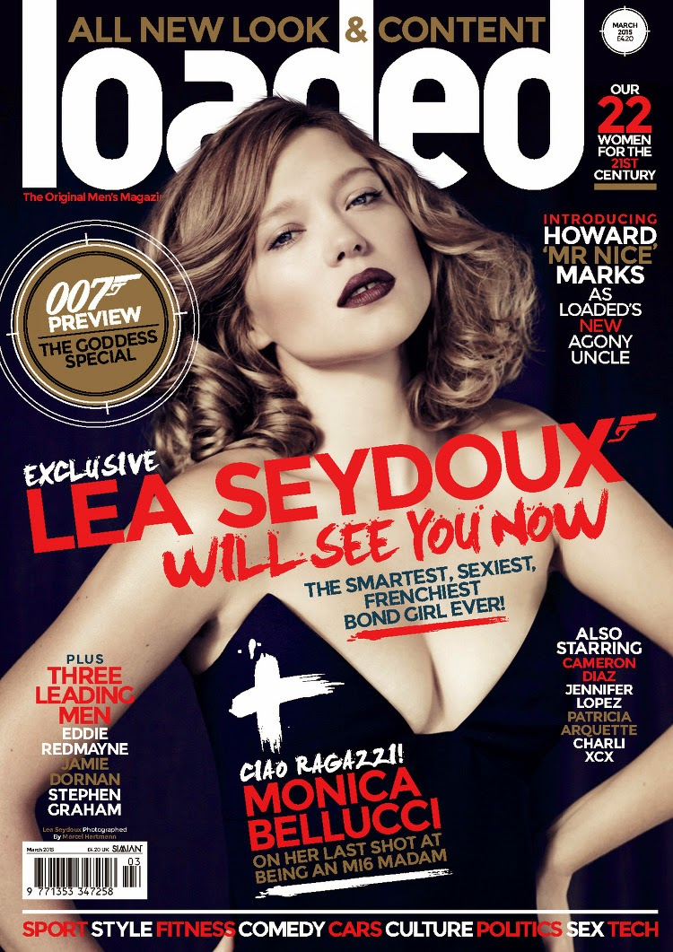 Actress, Soundtrack: Lea Seydoux - Loaded, March 2015