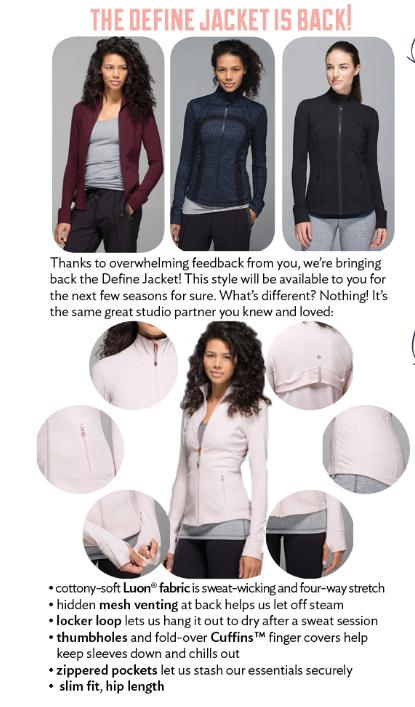 lululemon define jacket inkwell tri geo