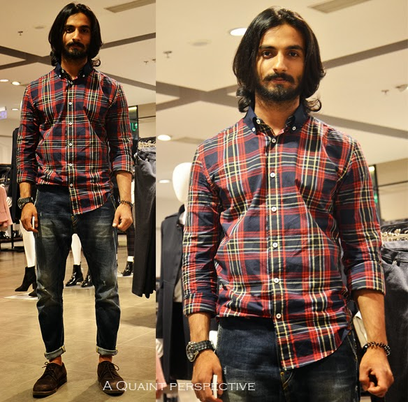 Arif struck me as the updated and latest version of the quintessential rugged-blue-jeans guy who always manages to score high on the ladies' checklist.