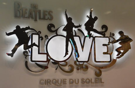 Hotel Le Mirage, Love, Cirque du Soleil, The Beatles, Las Vegas