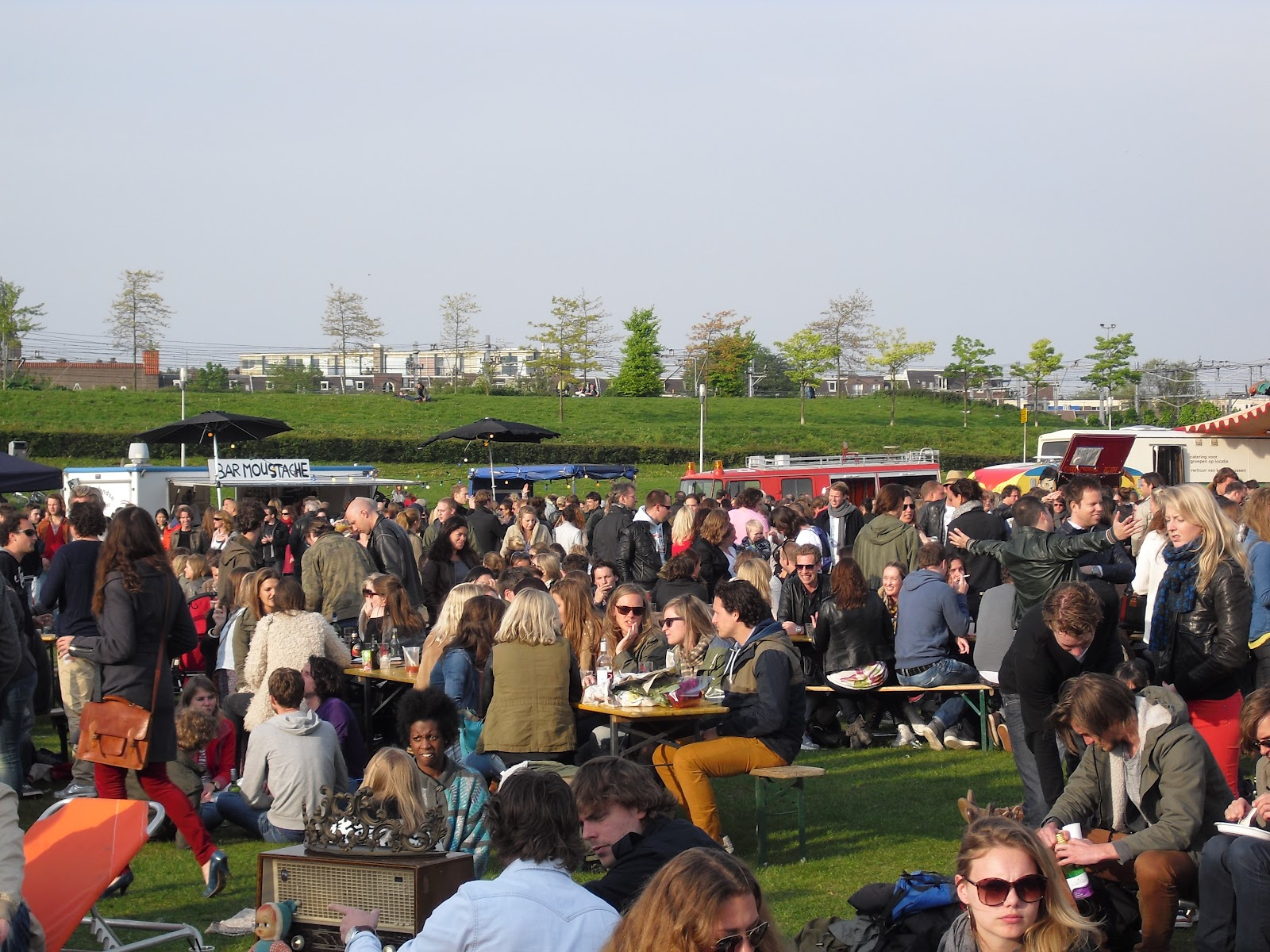 Rolling Kitchens at Amsterdam's Westerpark