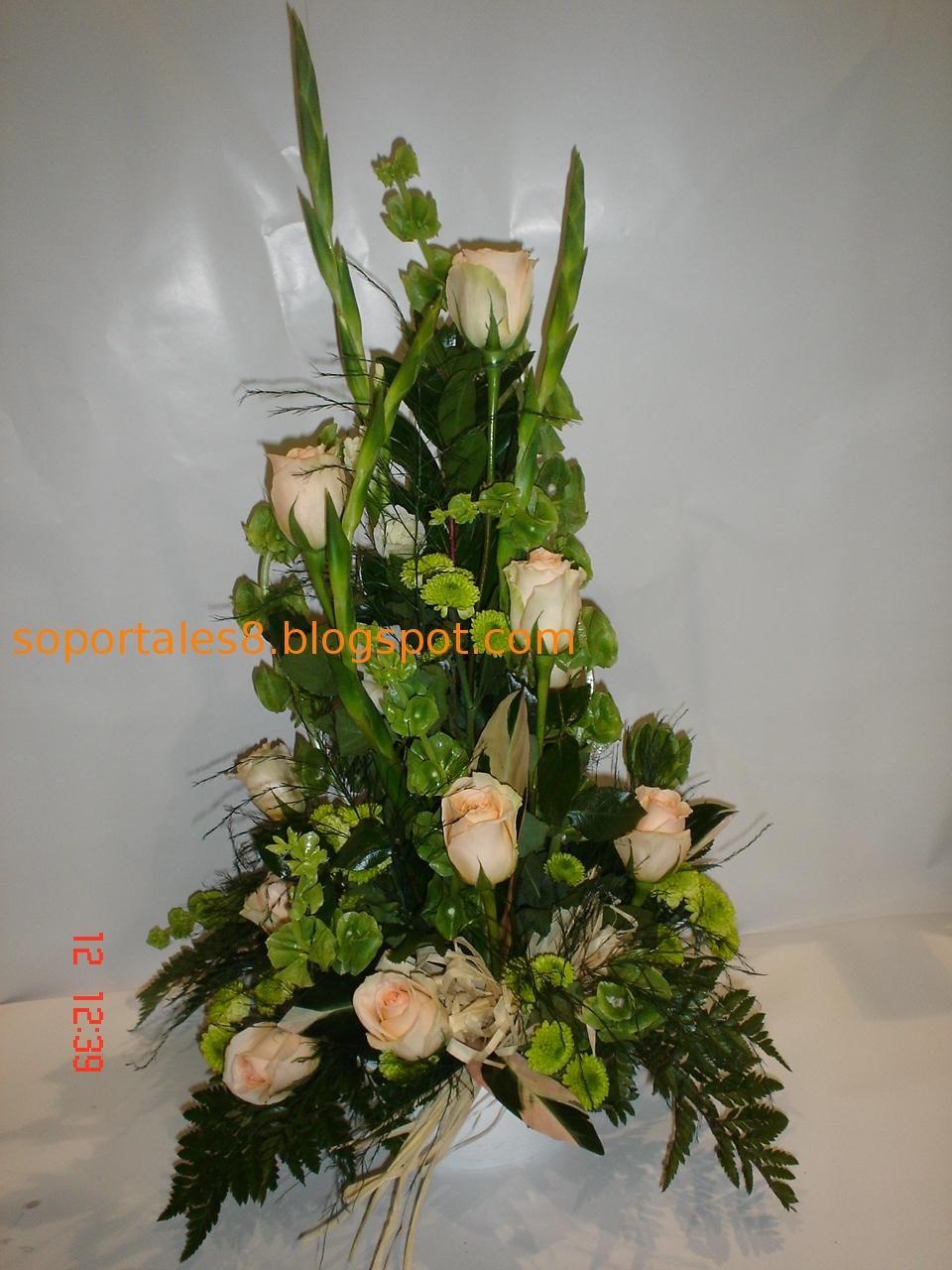 Flores para el Día de Todos los Santos Hogarutil - Imagenes De Centros De Flores Para Cementerio