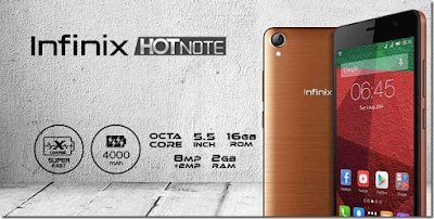 Infinix Hot Note X551 | andromin