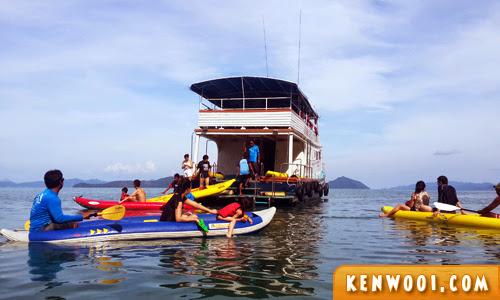 phuket canoeing