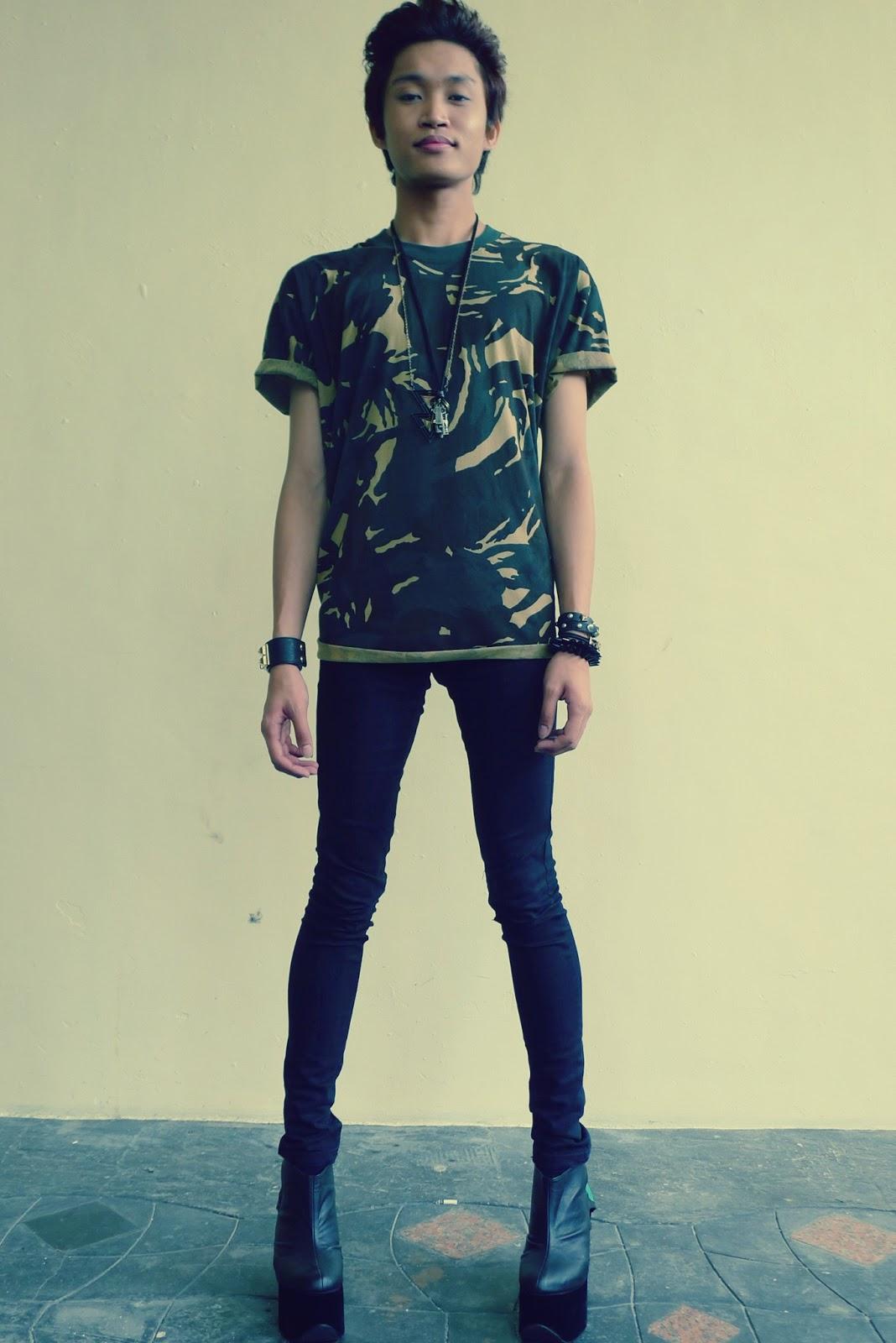 Vhong Navarro Shoes Yrys sweater. mango pants