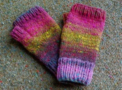 Noro Fingerless Mitts Free Pattern