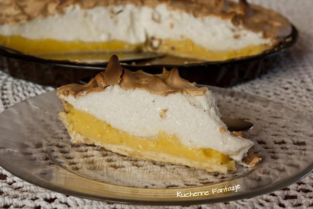 beza, lemon meringue pie, lemon curd, krem budyniowy, krem cytrynowy, tarta cytrynowa