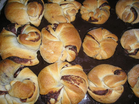 Nutty Nutella Rolls - Healthy Snack Recipes Blog