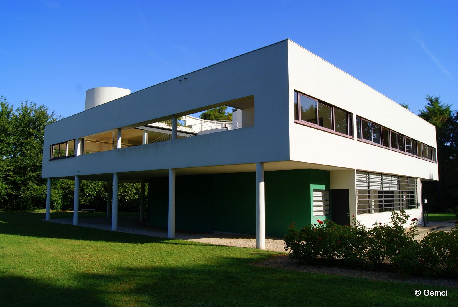 Mahamuni 39 s blog la villa savoye 1929 poissy cinq for Architecture de villa moderne