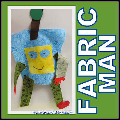 photo of: Fabric Man Kinder Creation via RainbowsWithinReach Quilt RoundUP