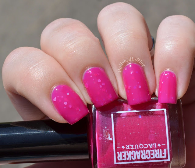 Firecracker Lacquer Dragons Can Be Pink Too!