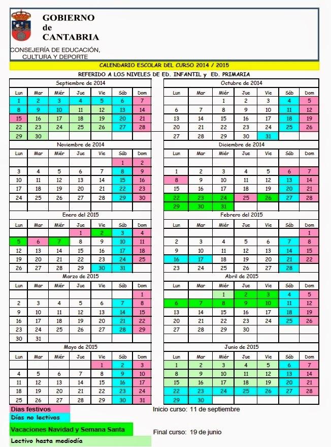 http://www.educantabria.es/noticias/noticias/noticias-de-portada/fijado-el-calendario-escolar-definitivo-para-el-curso-2014-15-y-la-distribucion-horaria-que-quedara-fijada-de-las-areas-del-nuevo-curriculo-de-educacion-primaria