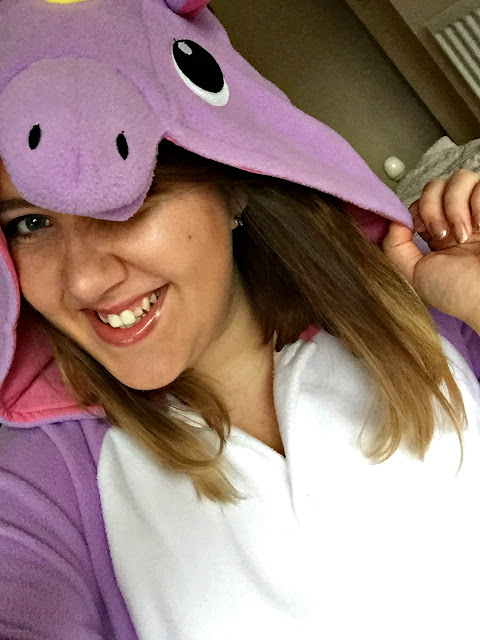 unicorn onesie TP fancy dress