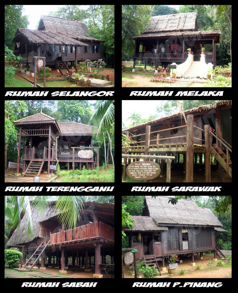 jenis rekabentuk tradisional yang boleh dilihat diseluruh Malaysia