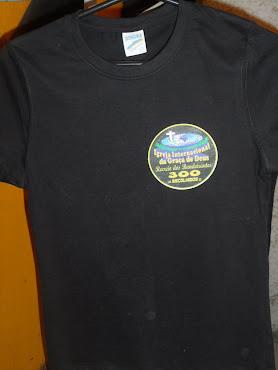 camisa com transfer dark