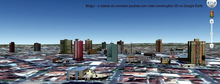 Panorama de Birigui em 3D