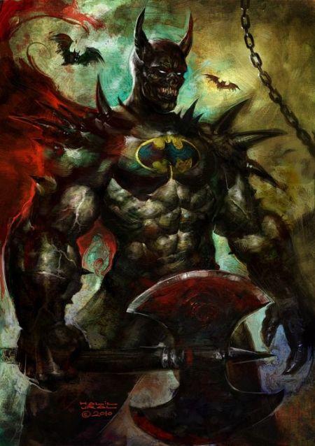 Halil Ural mrdream deviantart ilustrações fantasia arte conceitual Batman medieval