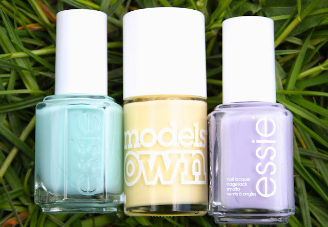 my top spring nail polishes