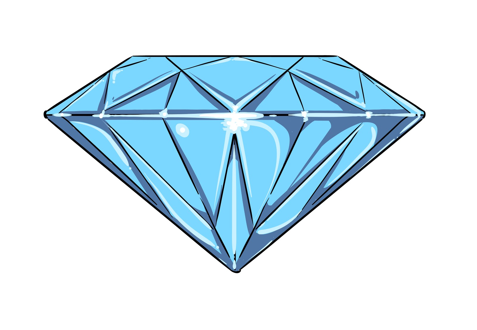 Diamond Clip Art Images & Pictures - Becuo