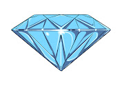 Free vector artdiamond. Design for tshirt.
