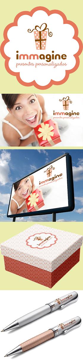 Criação de Identidade Visual + Aplicativos para a marca IMMAGINE