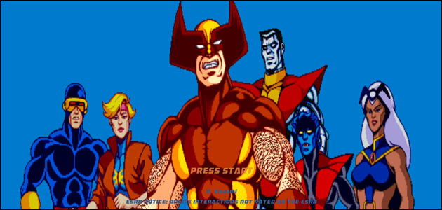 Gameplay de X-Men (Arcade)