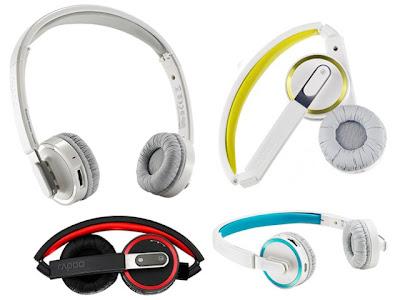 rapoo h6080 headphone bluetooth harga terjangkau