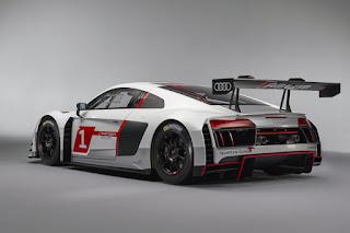 Audi R8 LMS 2016 Rear Side
