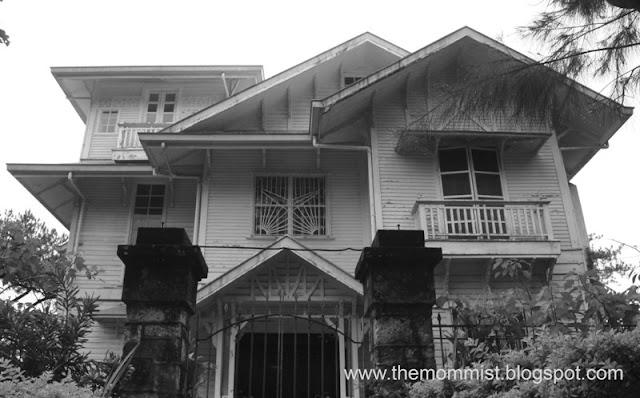 Laperal Mansion Baguio facade