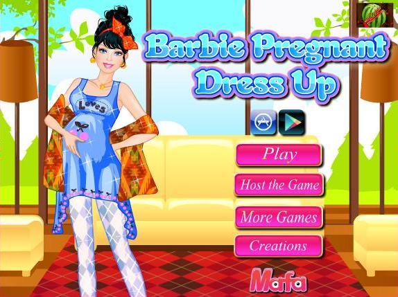 barbie pregnant games-barbie pregnant dress up