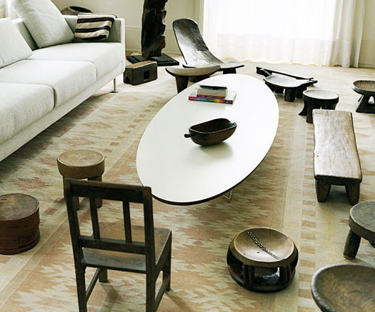 home decorations contemporary african decoration. Black Bedroom Furniture Sets. Home Design Ideas