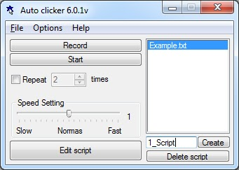 fast mouse cliker
